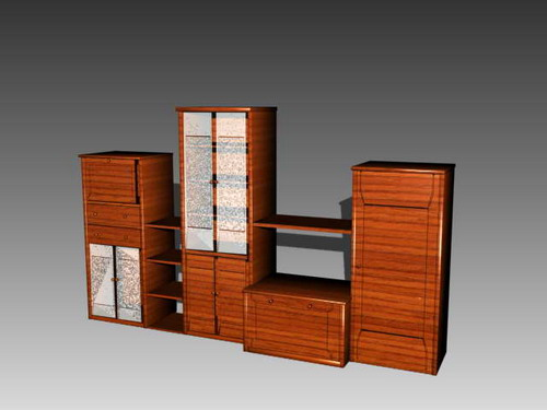 Furniture -counters 017��90�� 3D Model