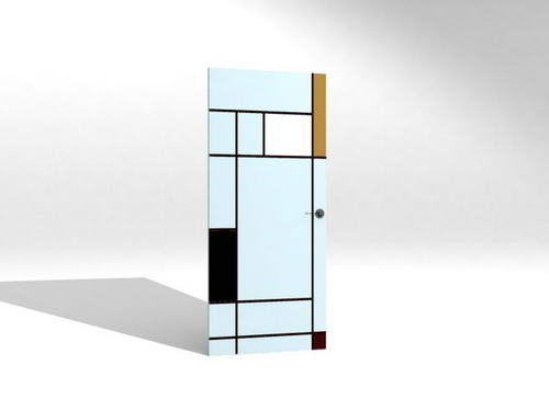 furniture /Door 5-9 3D Model