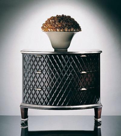 Furniture Model: Metal Side Cabinet/ Drawer Dresser 3D Model