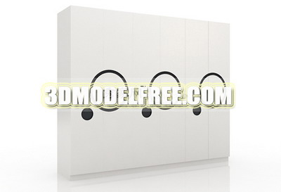 Furniture Model: Wardrobe 3Ds Model Home Decor