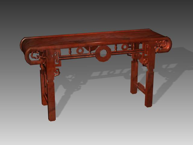 Furniture -tables a058 3D Model
