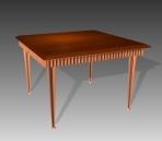 Furniture -tables a059 3D Model