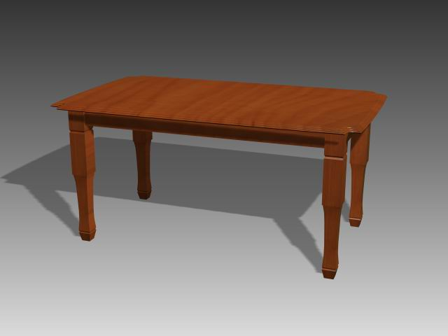 Furniture -tables a061 3D Model