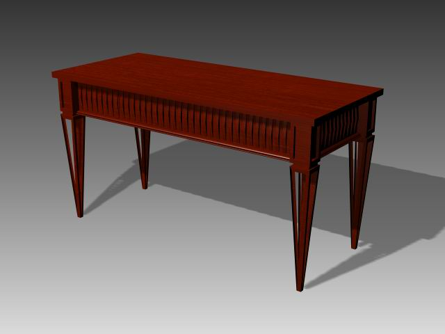Furniture -tables  a062 3D Model