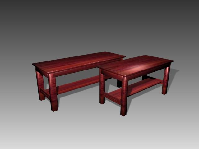Furniture -tables a063 3D Model