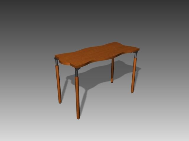 Furniture -tables a064 3D Model