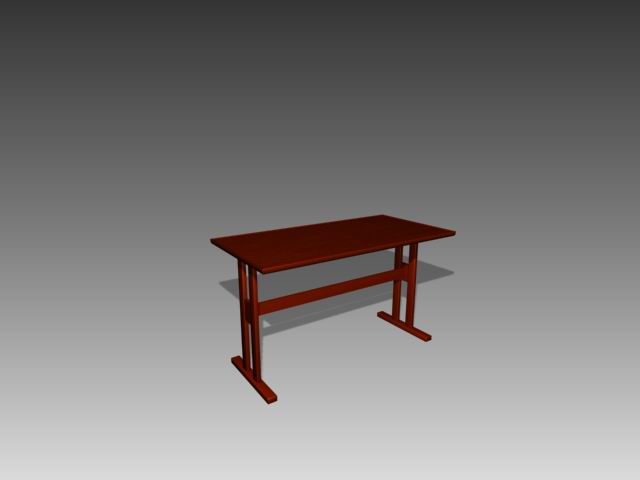 Furniture -tables a065 3D Model