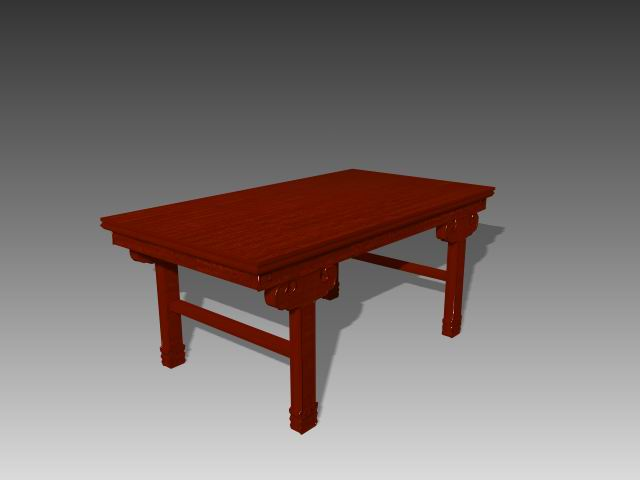 Furniture -tables a066 3D Model