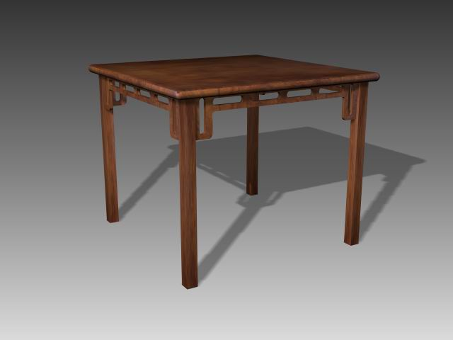 Furniture -tables  a068 3D Model