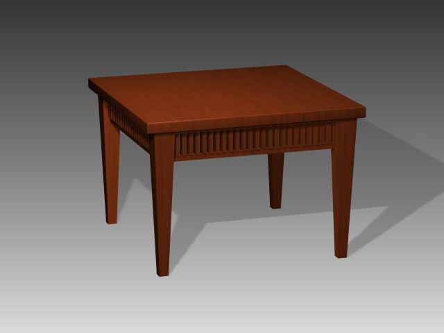 Furniture -tables a069 3D Model