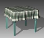 Furniture -tables a074 3D Model