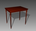 Furniture -tables a077 3D Model