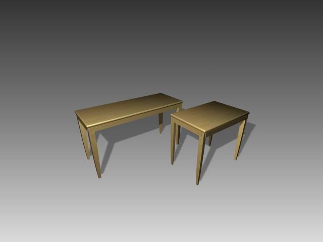 Furniture -tables a078 3D Model