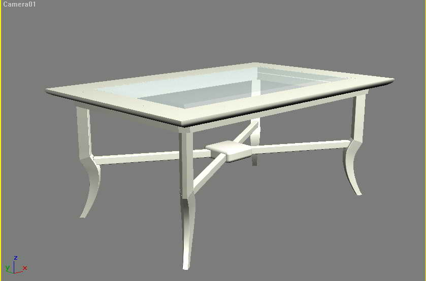 Furniture –tea tables��76�� 3D Model