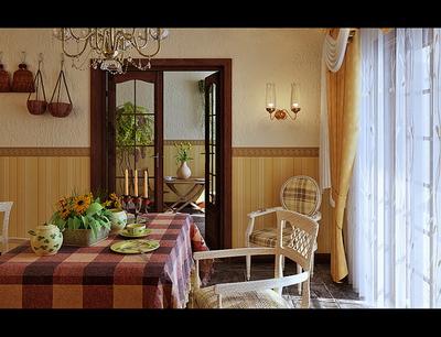 Garden-style restaurant 3D models
