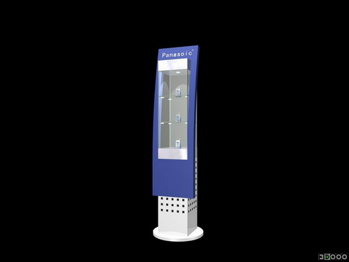 groceries 006 – commercial booth22 3D Model