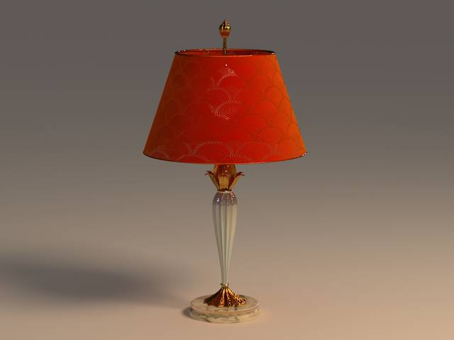 Gules glass lamp 3D models