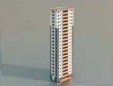 High-rise residential buildings / Architectural Model-50 3D Model