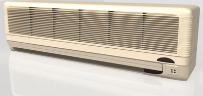 Household Appliance 3DsMax Model: Old Style Wall Mounted Split Type Air Conditioner