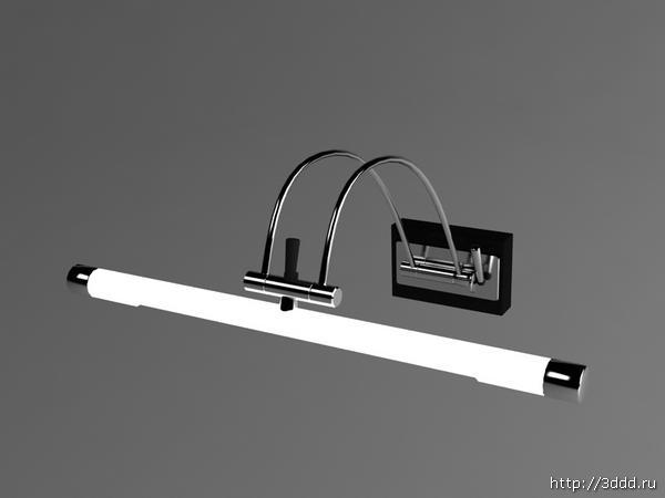 Household fluorescent lamp 3D models