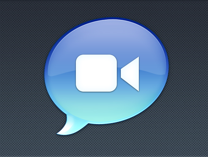 iChat Icon PSD