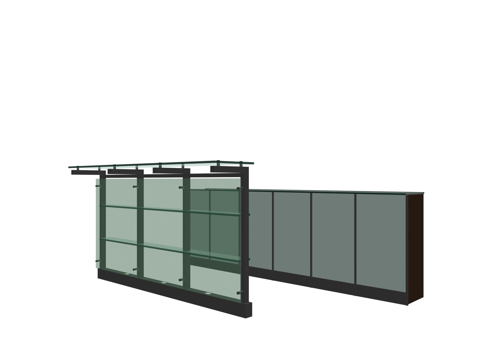 Indoor space – block 004 / bar 3D Model