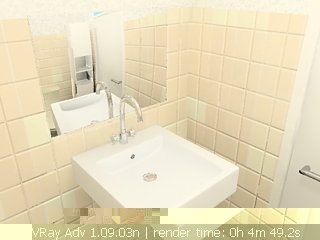 Indoor space essence 031 / toilets 3D Model