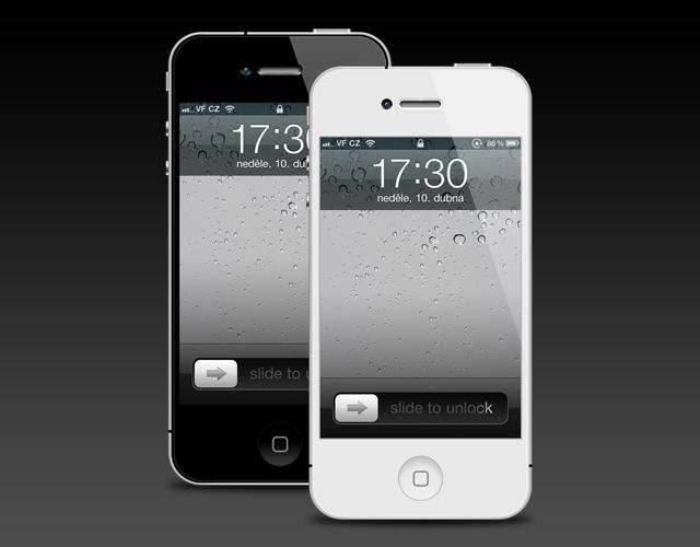 iPhone 4 Template Version 2 PSD