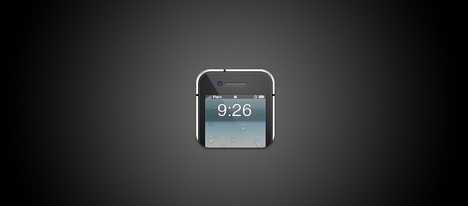 iPhone Icon PSD