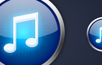iTunes Replacement Icon PSD