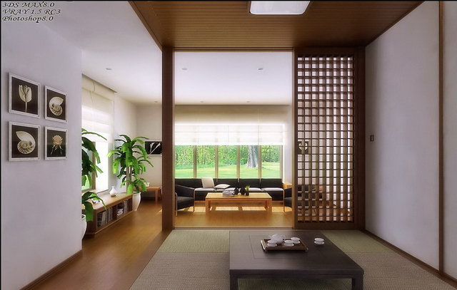 Japanese-style room 3 3D Model