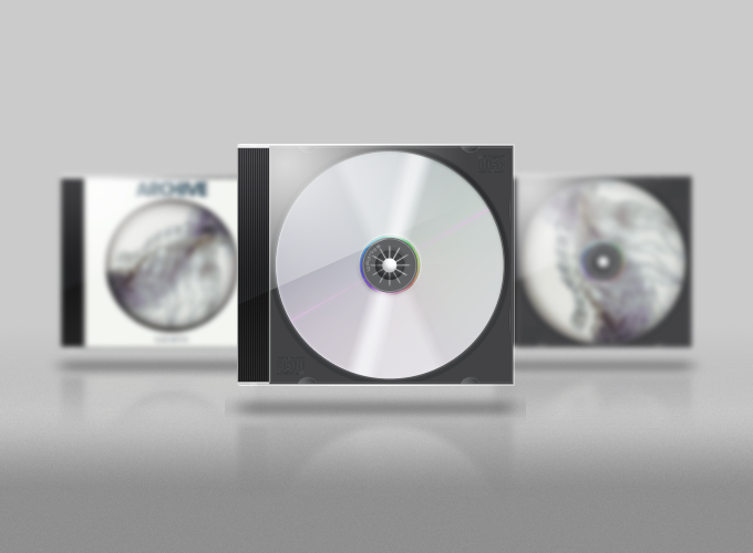 Jewel Case PSD