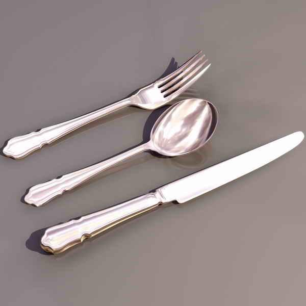 Knives/ utensils 3D Model