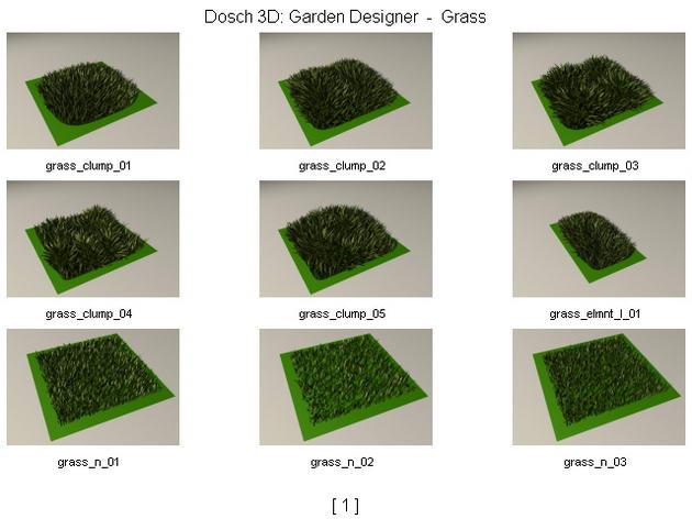 Lawn / grass / turf 3D Model