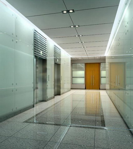 lift corridor model 3D Model