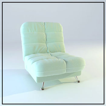 Light multi-purpose sofa 3D Model