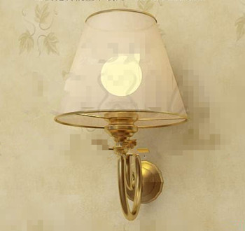 Light yellow lamp shade wall lamp 3D Model
