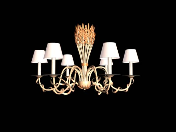 Lighting  – chandeliers 003 3D Model