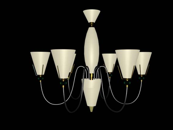 Lighting – chandeliers 005 3D Model