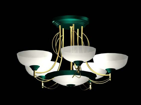 Lighting – chandeliers 007 3D Model