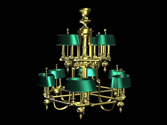 Lighting – chandeliers 008 3D Model