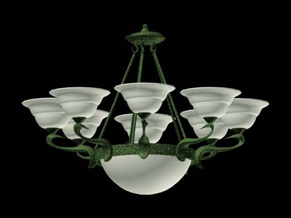 Lighting – chandeliers 014 3D Model
