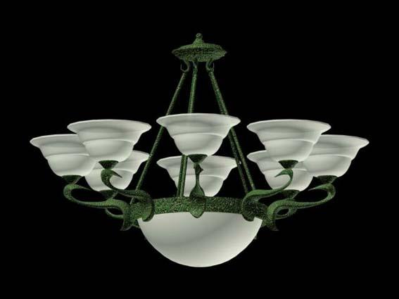 Lighting – chandeliers 014 3D Model