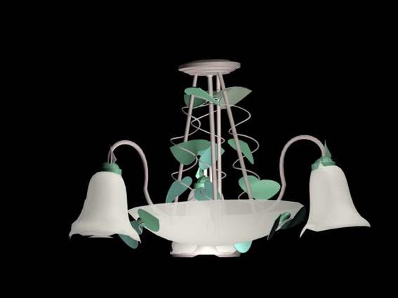 Lighting – chandeliers 016 3D Model