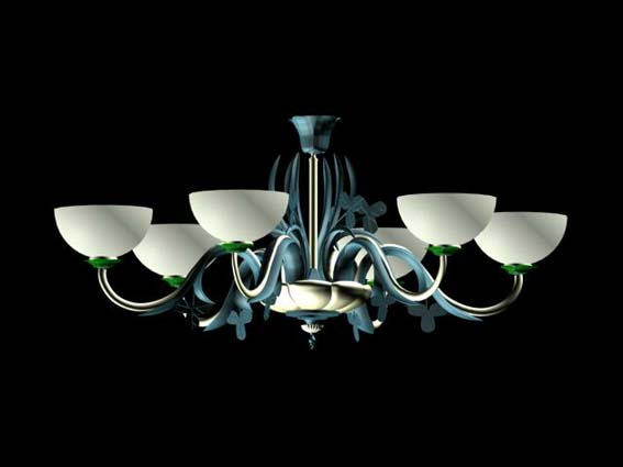 Lighting – chandeliers 017 3D Model