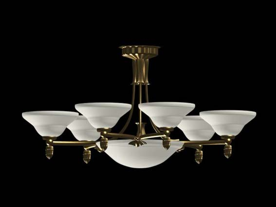 Lighting – chandeliers-018 3D Model
