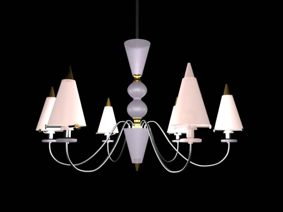 Lighting – chandeliers 019 3D Model