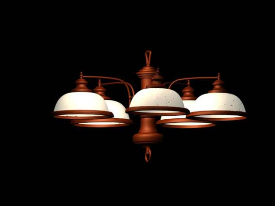 Lighting – chandeliers 021 3D Model