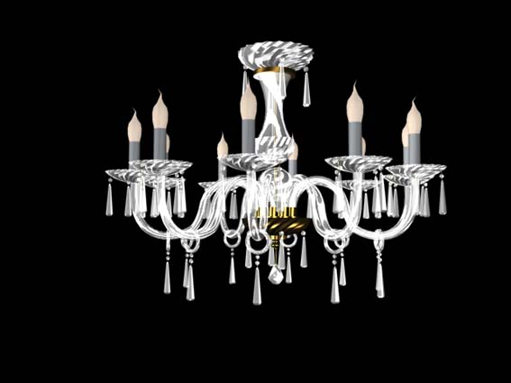 Lighting – chandeliers 022 3D Model