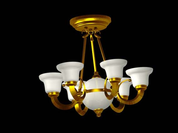 Lighting – chandeliers 023 3D Model